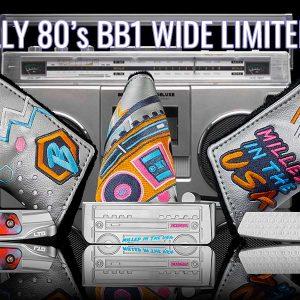 限定パターTotally 80's BB1 Wide Limited Runを発売します